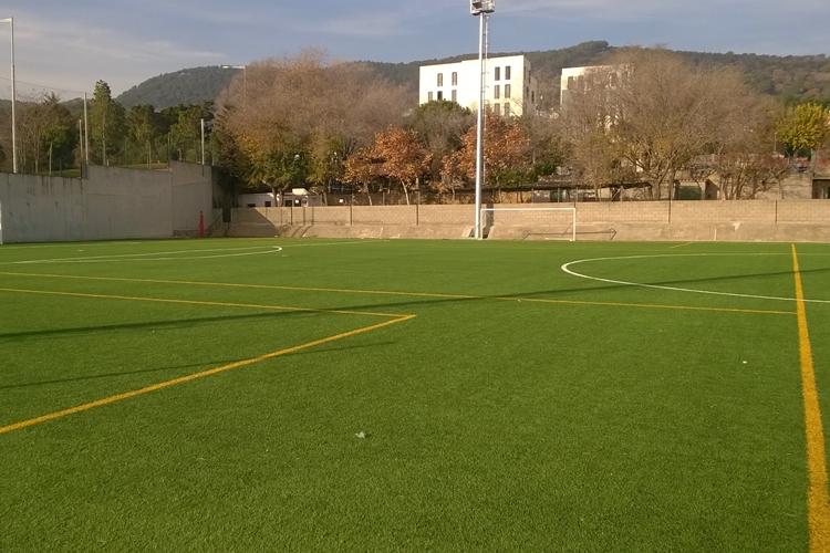 Pista futbol 7 Sagrat Cor Barcelona